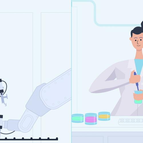 Erklärvideo - Roboter und KI in der Batterieforschung
