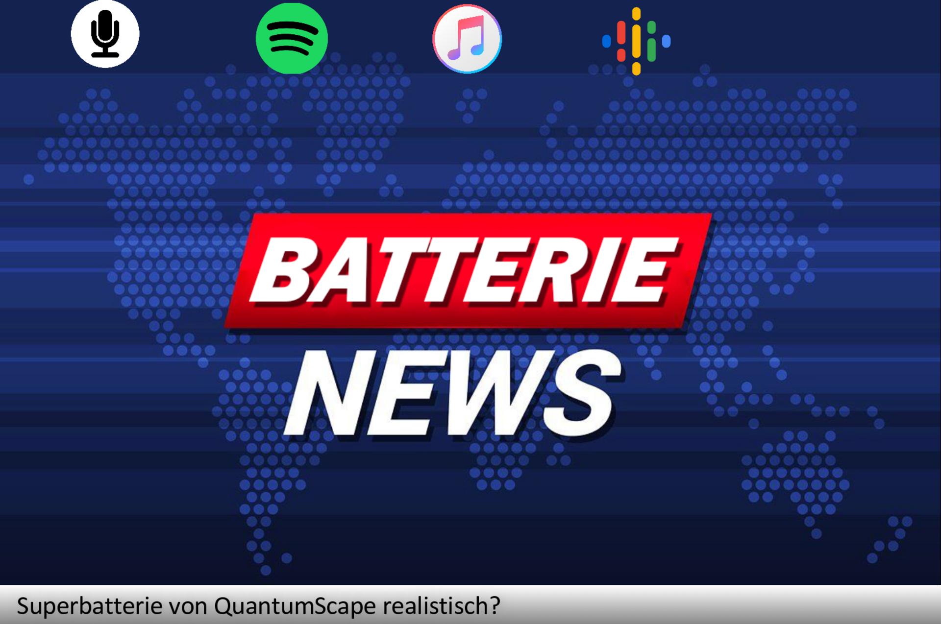 Die Superbatterie von QuantumScape